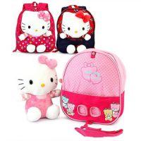 厂家批发韩版儿童毛绒娃娃防走失幼儿园女童双肩背包书包