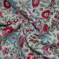厂家直销 全棉平纹布料 全棉平纹府绸印花布 全棉印花布 克重76g