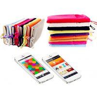 双层绒布套 移动硬盘电源保护套/韩国布袋 手机布套 手机布袋定做
