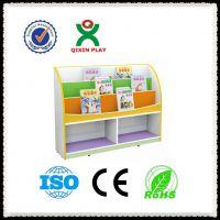 儿童书架简易实木 幼儿园儿童卡通实木书架 可定做广州奇欣 厂家直销
