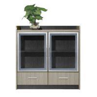 供应厂家直销优质二门木制酒店茶水柜 简约饭店板式备餐台储物柜子