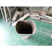 316L不锈钢异型管 海南316L不锈钢凹槽管(50.8*槽15*15)