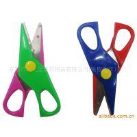 厂家直销不锈钢学生剪刀,家用剪刀 文具剪刀 花边剪等