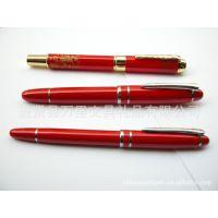 万里文具宝珠笔【中国红笔】精致中国红金属广告促销礼品笔宝珠笔