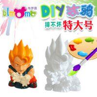 批发 非 石膏彩绘 DIY 玩具 陶瓷彩绘 搪胶白坯  石膏娃娃 模具