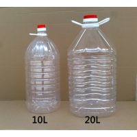 供应4L4.46L5L10L15L18L20L食用油瓶批发 塑料油瓶 金龙鱼油桶 油壶