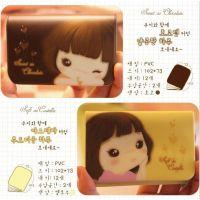 米光~C022 新款韩版卡通PVC女士卡包 女包 妞子卡包 卡套12卡位