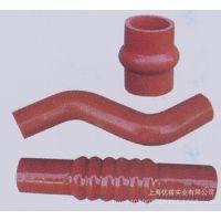 供应厂家生产销售各种硅胶水管空气管增压水排气管直管蓝色红色可定做