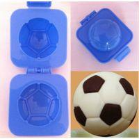 足球形蛋糕模具 圆形饭团寿司器 DIY蛋糕月饼鸡蛋压印模