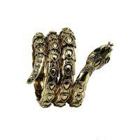 欧美风复古朋克风款夸张蛇形手镯手环女时尚个性手链潮流饰品