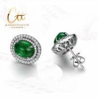 供应祖母绿宝石,祖母绿批发,祖母绿耳钉,祖母绿手镯,天然祖母绿批发