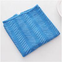 纯棉儿童婴儿毛巾 纹路系列纯棉小方巾 MH14-687