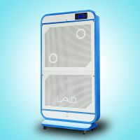 供應層流型超薄空氣凈化消毒屏-LAD/KJ-P600