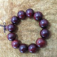 正宗印度小叶紫檀佛珠2.0cm 批发佛珠手串