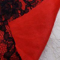 广州货源 供应复合蕾丝布料 贴合面料 贴合蕾丝