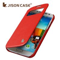 供应杰森克斯 S4手机复古保护套 i9500手机套 三星s4复古皮套