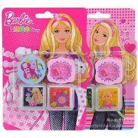 正版芭比品牌 印章套装组合 可爱小印章 儿童玩具 A324104 批发
