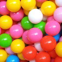 数字海洋球 波波球 游乐场专用加厚 无毒无味洗澡玩具 PB-013