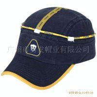韩版新款时尚男女运动赛车帽休闲夏天钓鱼帽平顶鸭舌帽时装帽