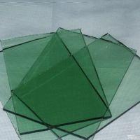 坤豪玻璃厂专业生产有色玻璃批量加工8mmF绿钢化玻璃深加工玻璃