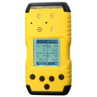 高低二级报警值可以自行设置TD1168-F2型手持便携式氟气监测仪
