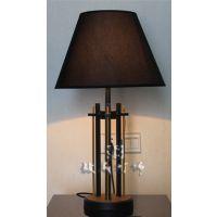 酒店客房台灯 卧室中式复古台灯 现代中式台灯批发