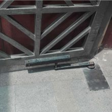 四川武侯区、成华区小区庭院门开门机,庭院防盗门遥控电机,找知名品牌冷雨LEY电动地弹簧