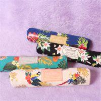 批发斯普维加亚马逊雨林系列圆形笔袋 韩版帆布拉链笔袋 学生笔袋