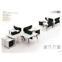 西安屏风办公桌 西安办公桌厂家 推荐欧乐办公家具 4006608869