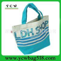 深圳龙岗工厂 外贸帆布袋 休闲帆布袋 韩国购物袋 出游沙滩袋批发