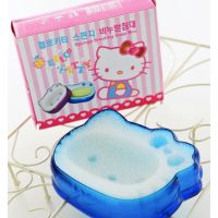 卡通可爱KT有氧香皂盒/hello kitty肥皂盒/O2网眼皂盒