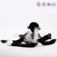 【实力商家】外贸出口玩具厂定做窗帘公仔 魔术贴搭扣猴子狒狒