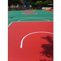 供应1.5毫米厚丙烯酸球场地坪刷漆 篮球场地面涂油漆 硬地丙烯酸球场地坪多少钱?