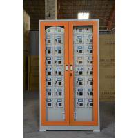 张家口宏宝36门 智能手机存放柜充电柜对讲机存放柜手机充电柜