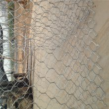 格宾网应用 镀锌石笼网 锌铝合金石笼网