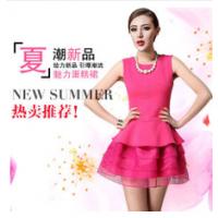 雪纺长裙仙范儿十足的雪纺连衣裙厂家直销低价批发