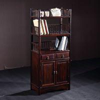 红木书房家具酸枝木围栏小书架实木置物架中式书橱书柜明式茶水柜包邮