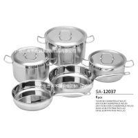 新兴锅具生产厂家 定制新款不锈钢锅具套装 厨具 炊具