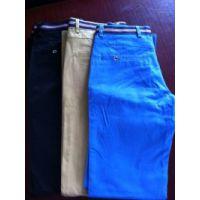 供应男款涤棉休闲裤(黑色,蓝色,驼色。大小号齐全)