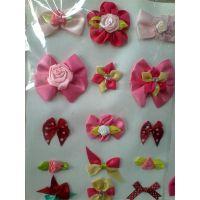 手工缎带花,蝴蝶结,工艺花