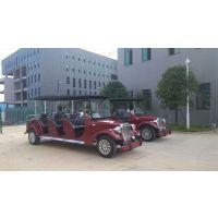 大丰和十年专业制造 热销款8座 夏利红 豪华电动老爷车