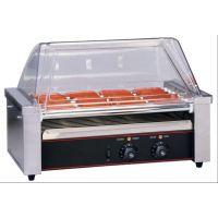 厂家供应新粤海HD-011-D 十一棍滚筒式烤香肠机/热狗机 全国联保