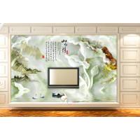 朱居家 中式欧式现代 玄关电视瓷砖背景墙 客厅沙发3D壁画墙贴墙砖