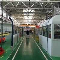 三菱电梯冲压车间噪声治理工程 生产线声屏障工程