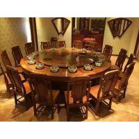 厂家供应厚重老榆木餐桌椅组合,仿古全实木餐桌椅组合老榆木家具优缺点