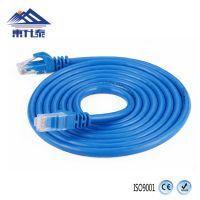厂家直销 东升泰超五类网线1米 cat5e无氧铜8芯网络线 RJ45成品跳线