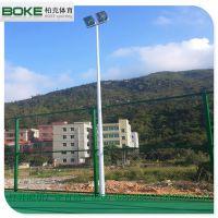 霞浦羽毛球場燈杆批發 高杆燈杆高度定制 燈柱燈杆款式設計