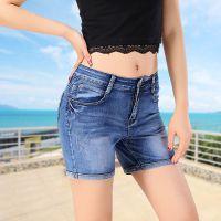 2015新款牛仔裤女士韩版小脚裤显瘦修身弹铅笔女裤子潮