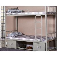 厂家直销上下铺铁架床 向上供应实木学生床