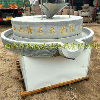 青海大型豆浆石磨机现货 天然复古电动石磨机 瑞诚供应